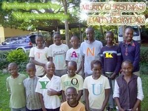 Happy Holidays from Zambia