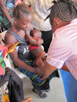 Helping to provide heathcare in Sierra Leone