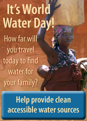 It's World Water Day