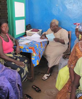 Sierra Leone Maternal Care; meet Mamie Baindu