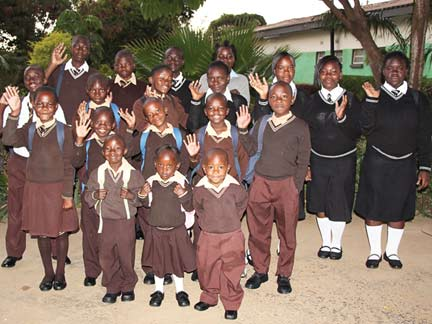 Back in Session at the Amali School in Zambia