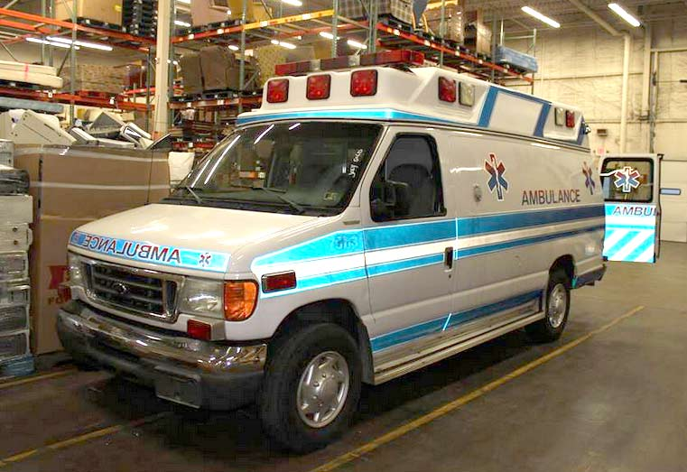 Ambulance Shipped to Sierra Leone