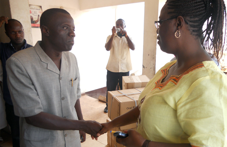 Rev. Mambu Says Happy New Year and Prays for Relief