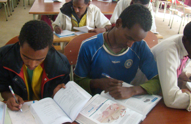 Promoting Literacy, and More, in Ethiopia