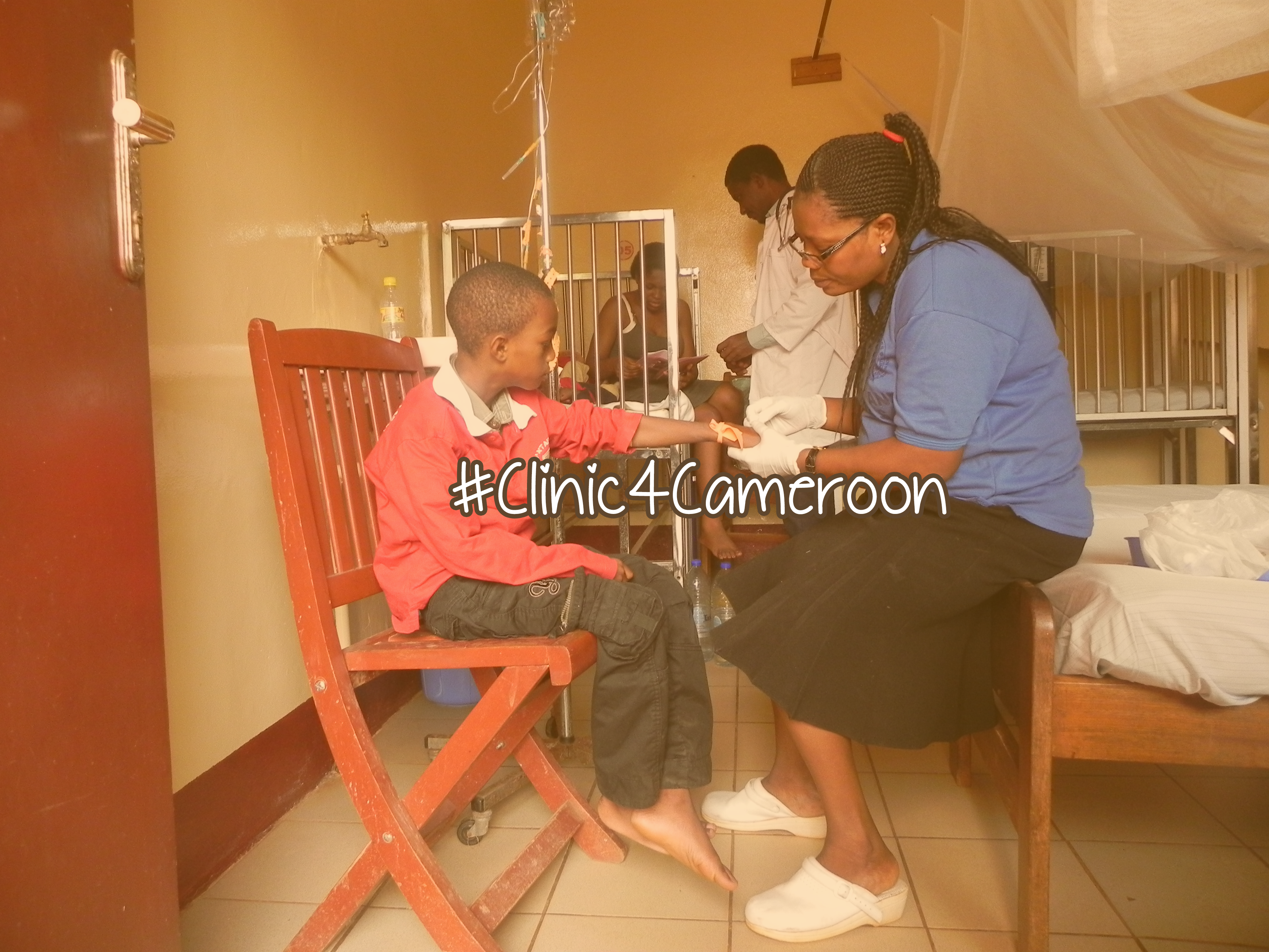 Samuel, and Many Others Need a #Clinic4Cameroon