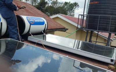 Solar Hot Water System Helps Keep Kenya Clinic Sanitary