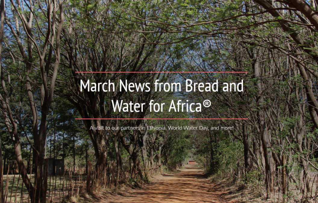 A visit to our partners in Ethiopia, World Water Day, and more!