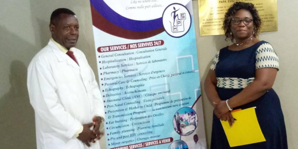 Hope Services' Hospital in Douala to receive an ultrasound machine and more