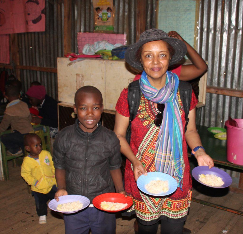 Bread and Water Executive Director in Kibera Kenya