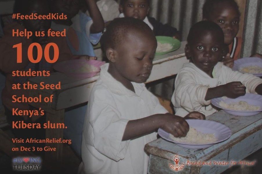 We Need to Feed Seed: Help us Feed Students at the Seed School in Kibera on Giving Tuesday