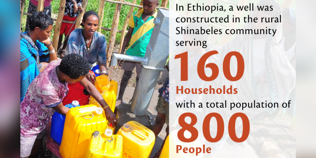 Thank You to Joseph and Alexis, and All our Supporters, for Making a Well Possible in Ethiopia